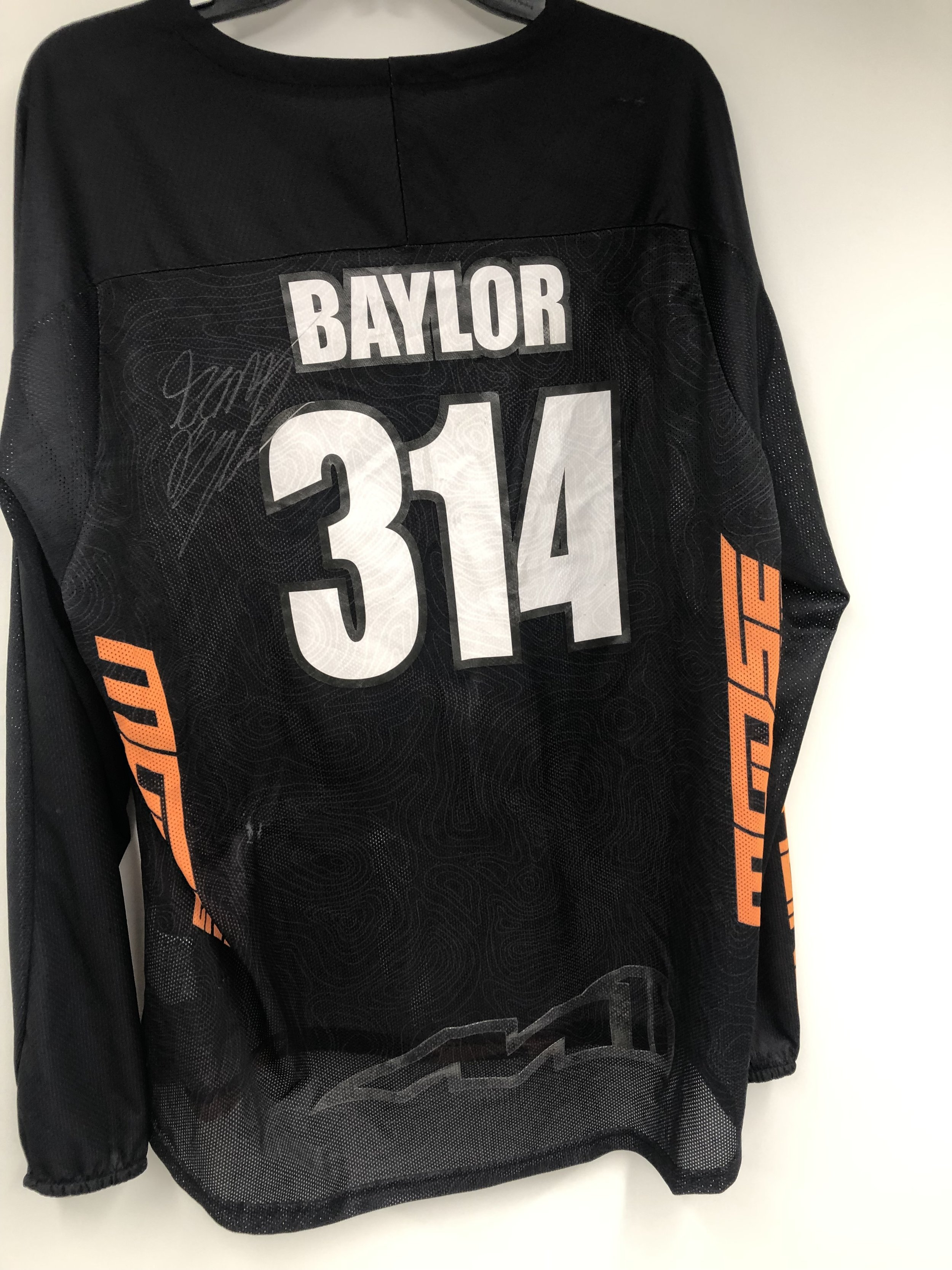 Click the image to bid on Grant Baylor Jersey