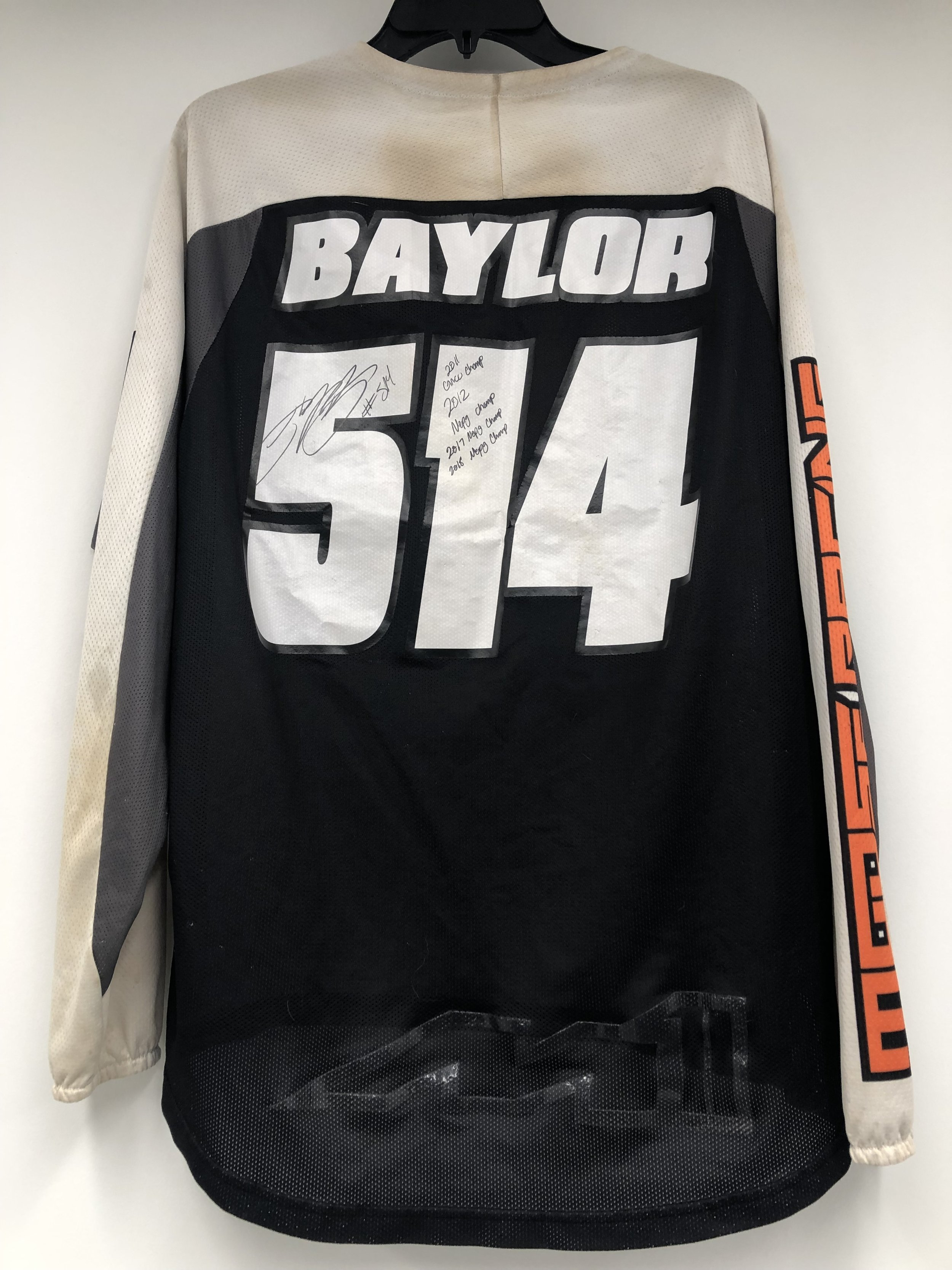 Click the image to bid on Steward Baylor Jersey