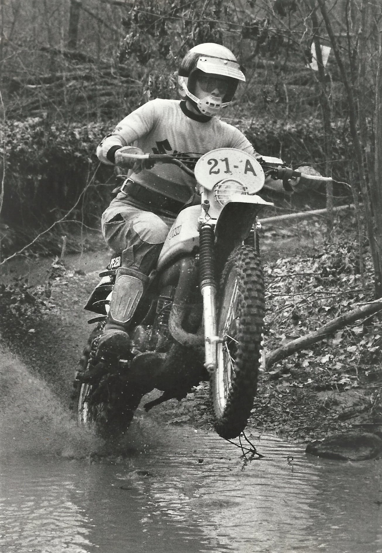 Yellowbanks Enduro in 1979 where Chris had a perfect score of 0 in the old time keeper format.