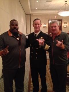 Jeff Madden,Admiral McRaven,Mack Brown