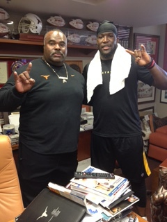 Coach Madden & Brian Orakpo