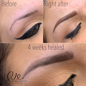 healed powder brows