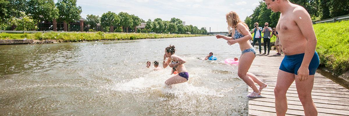 Big Jump, Canal Anderlecht