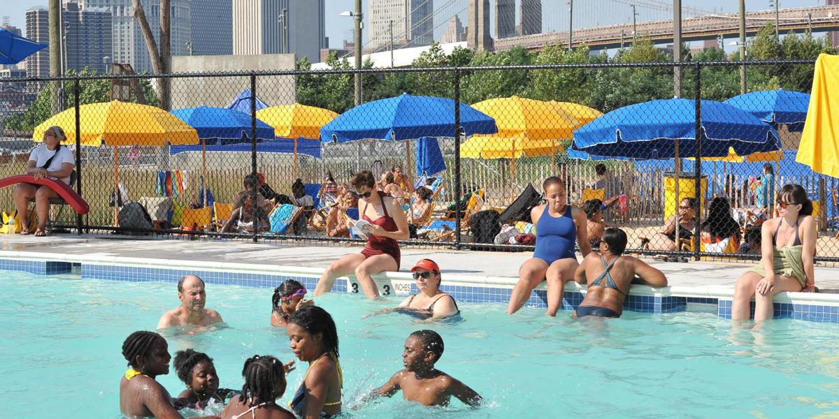 Pop Up Pool, New York