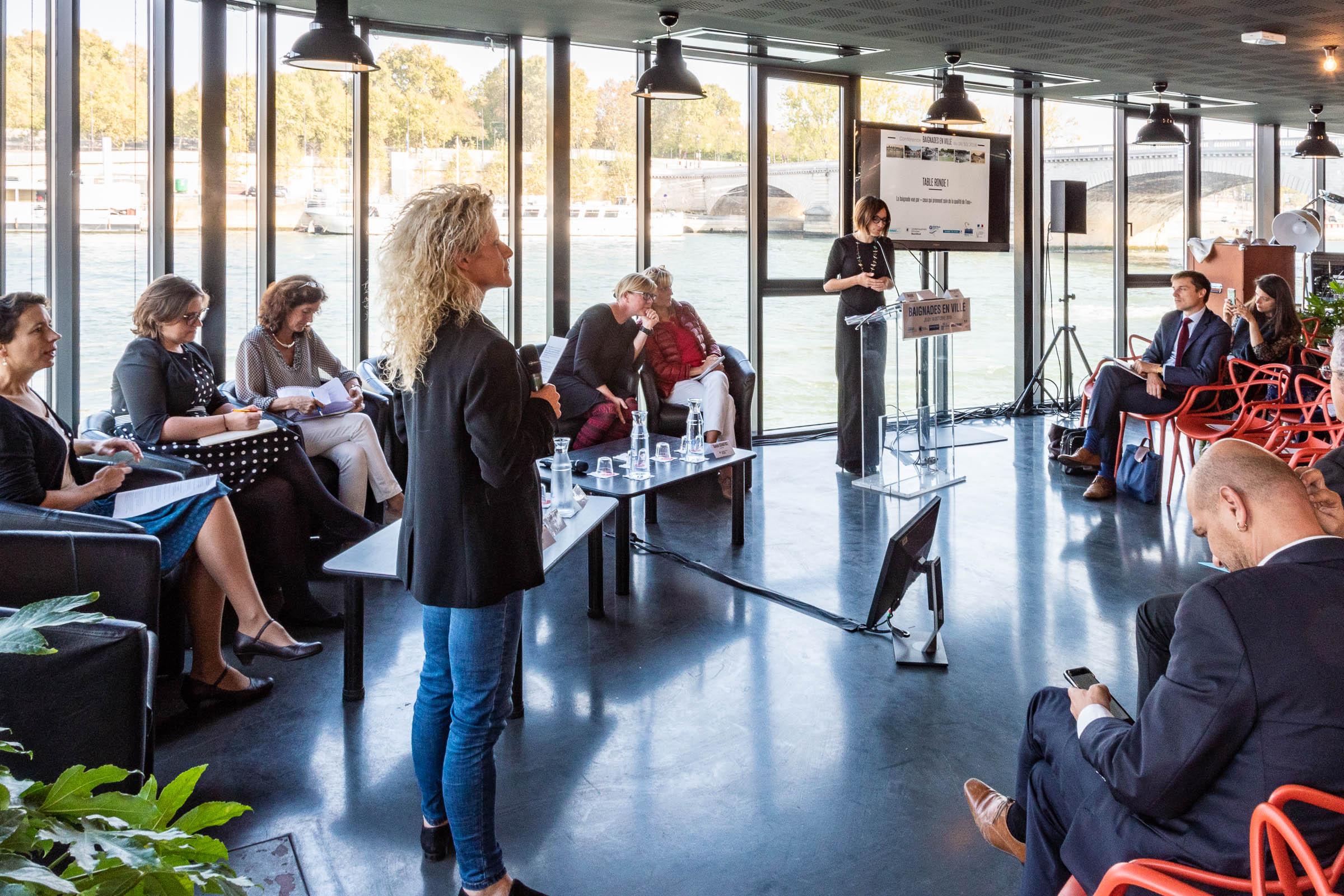 Introduction by Celia Blauel, Maire-adjointe Ville de Paris, Environnement, développement durable, eau, politique des canaux et plan climat énergie territorial