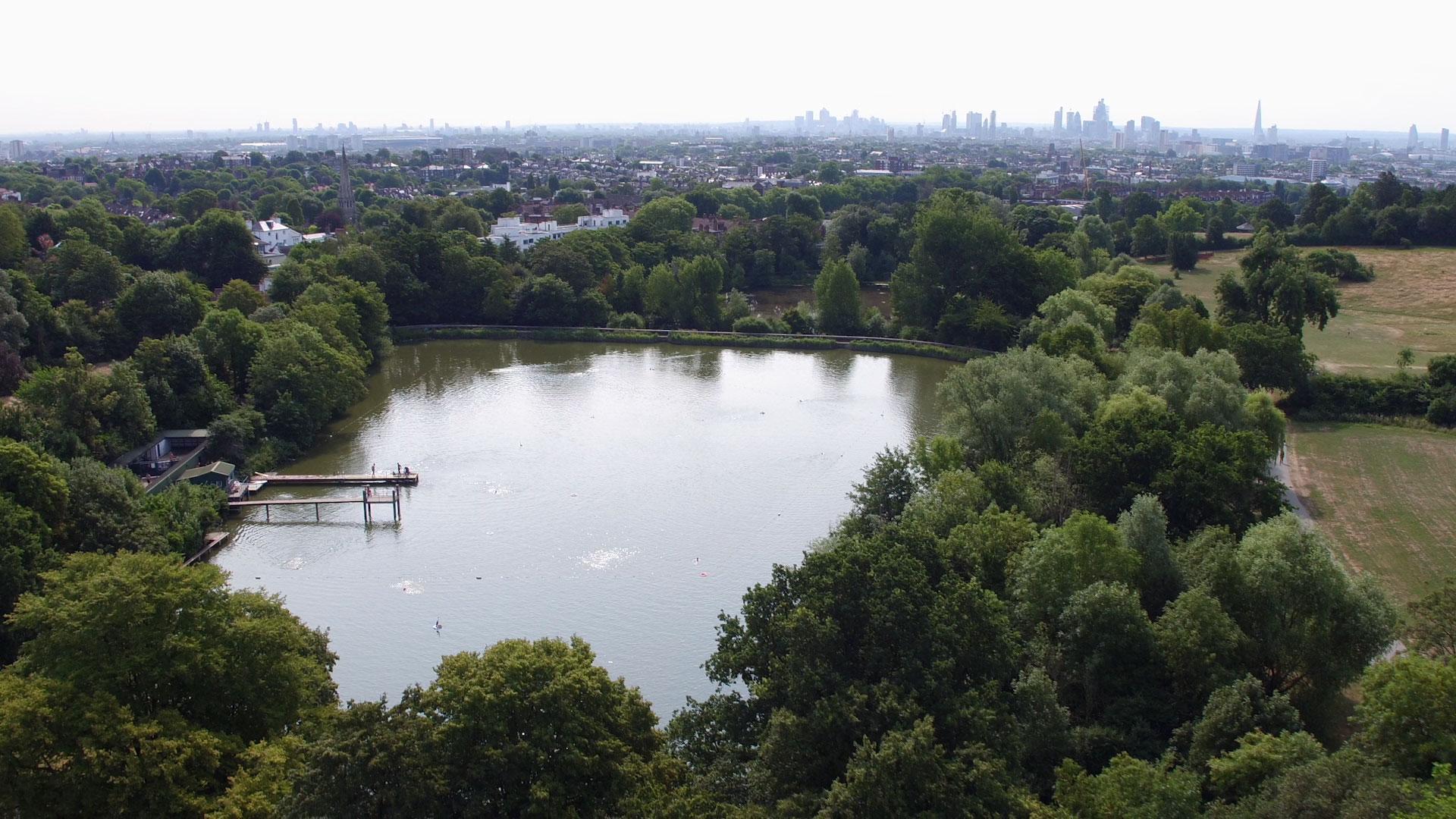 Hampstead Heath Ponds, London