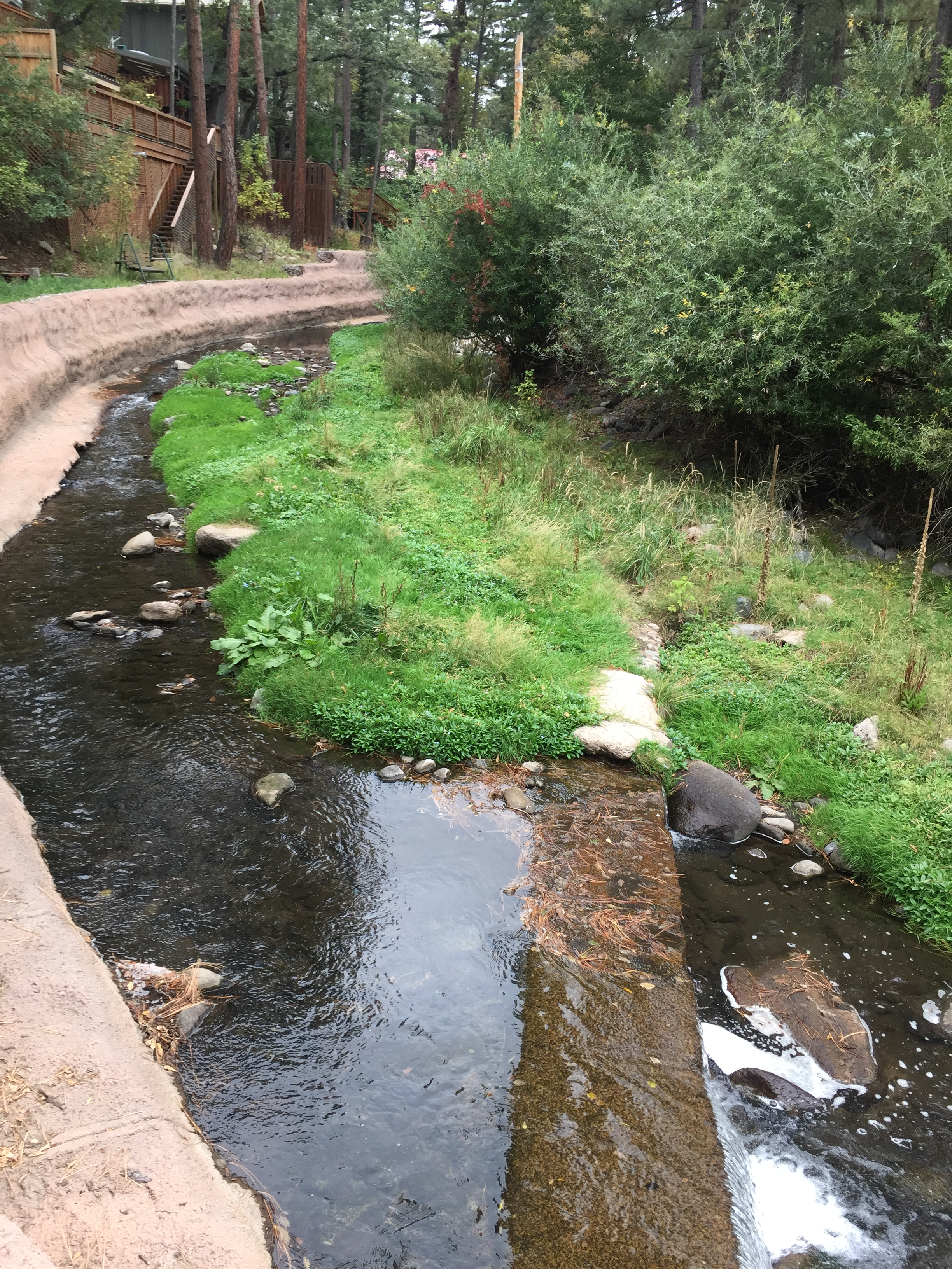 Concrete encased sewer line in Upper Canyon to be rehabilitated and armored