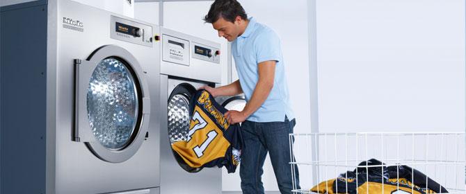 Athletics Washer & Dryer