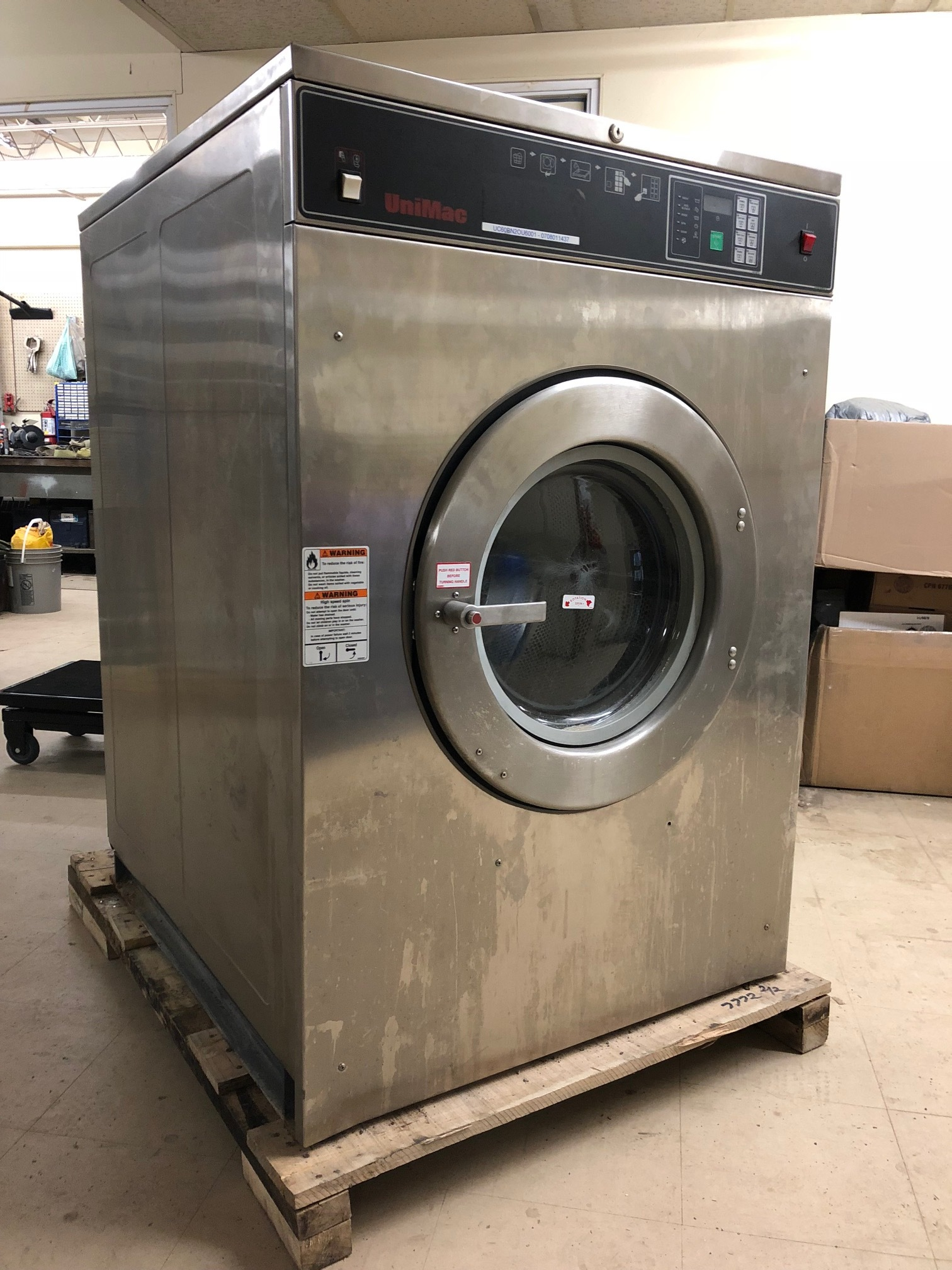UniMac Washer 60lb UC60BN2