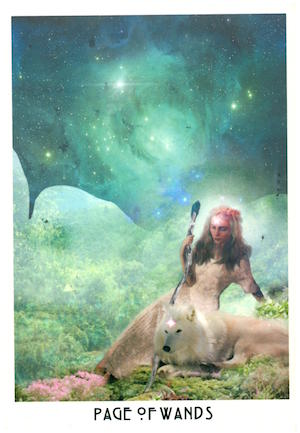 Page of Wands - Starchild Tarot via HellaNamaste.jpg