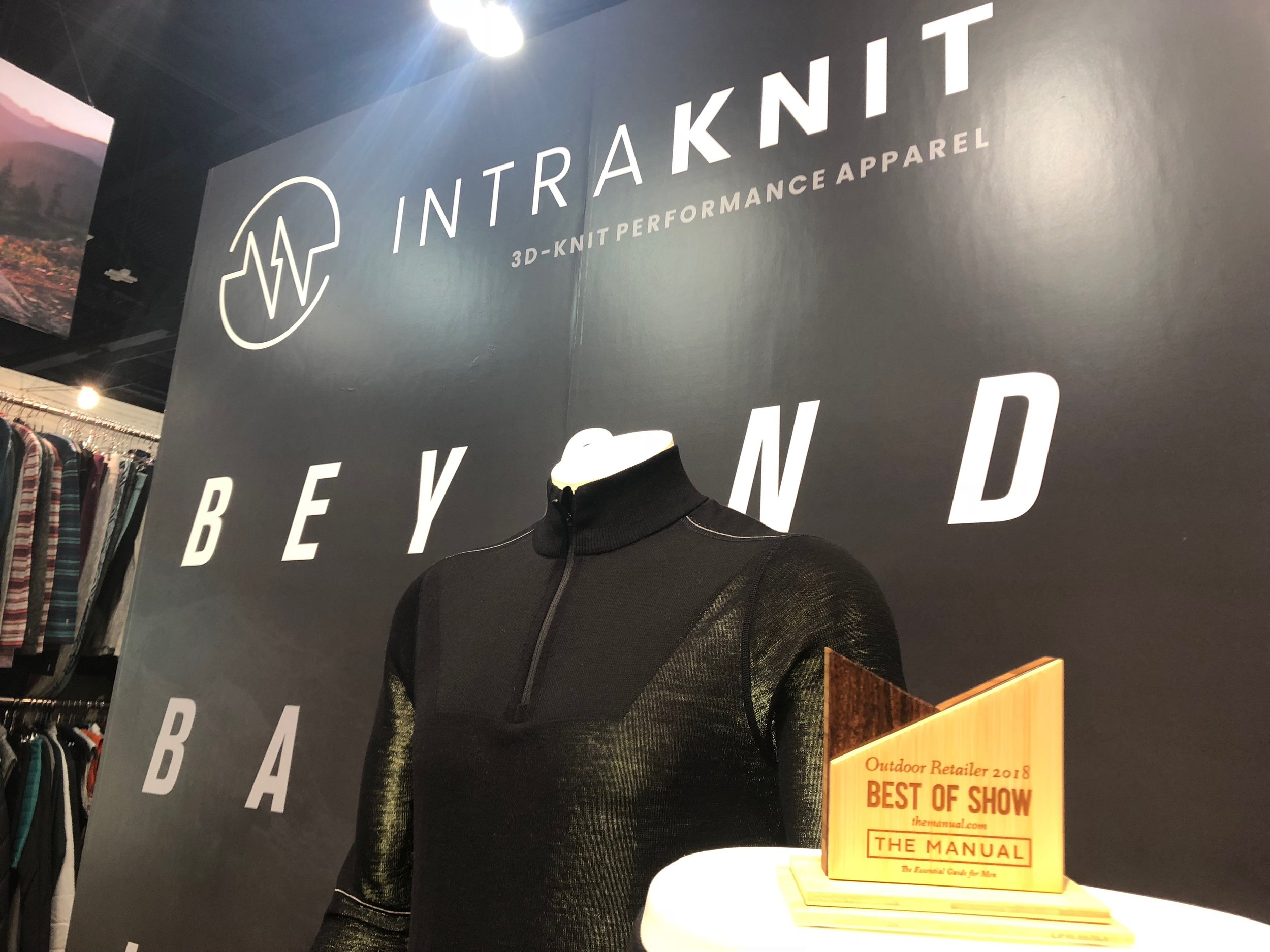 """Intraknit wins """"Best of Show"""" from The Manual."""