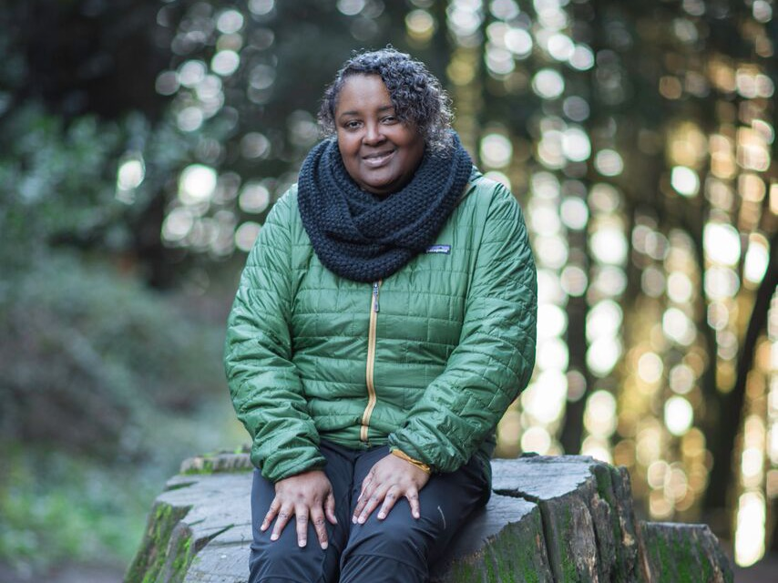 Teresa Baker, founder of African American Nature & Parks Experience and creator of the Outdoor CEO Diversity Pledge.