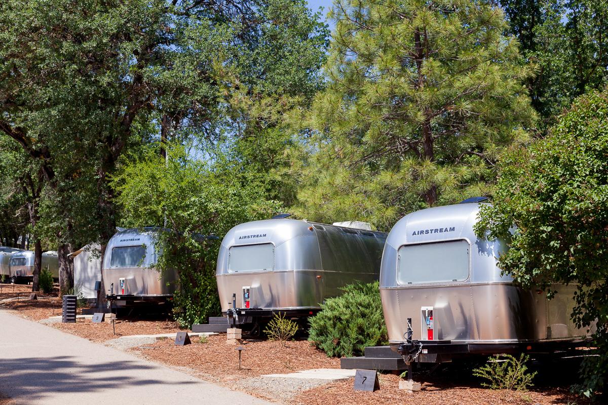 Accommodations at AutoCamp Yosemite.