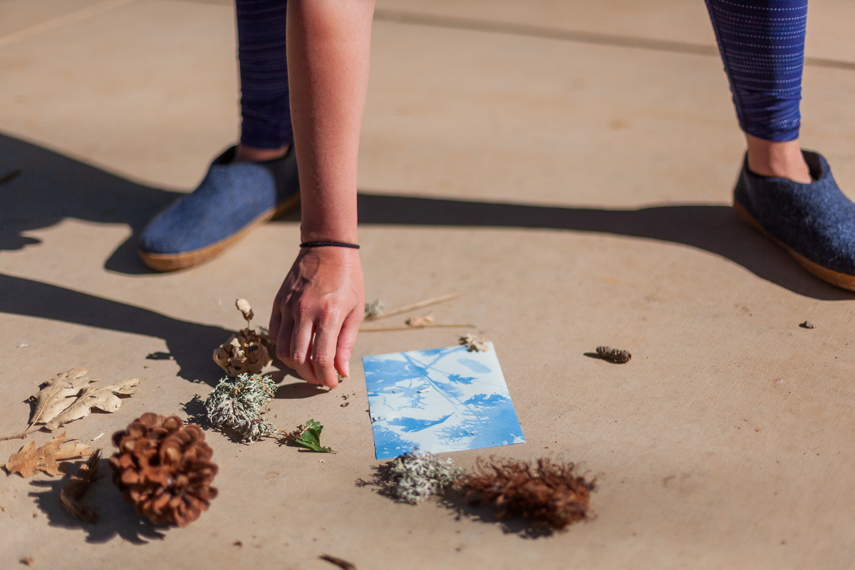 Art projects in nature with artist, author and friend, Anna Brones.