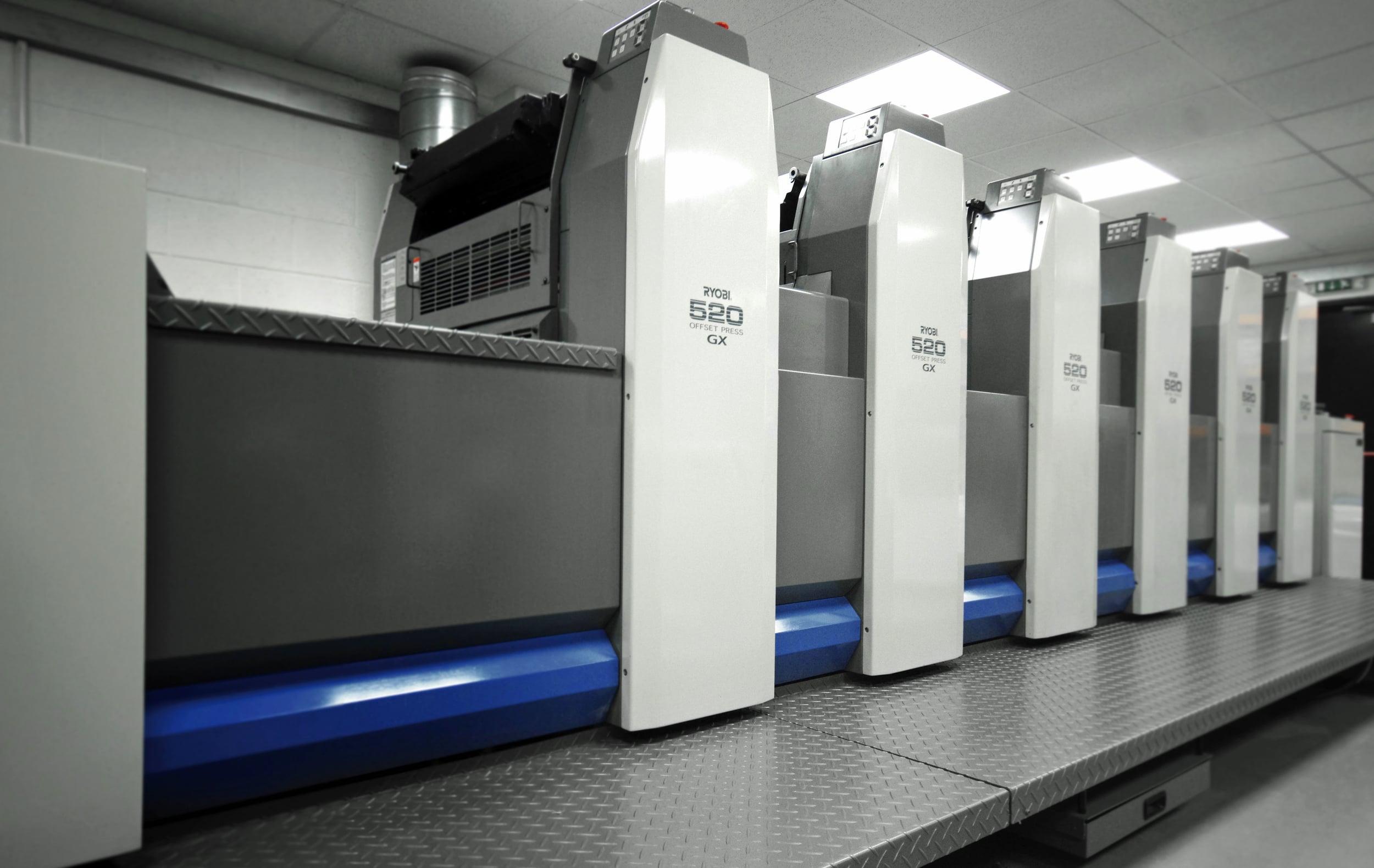 Offset--printing press