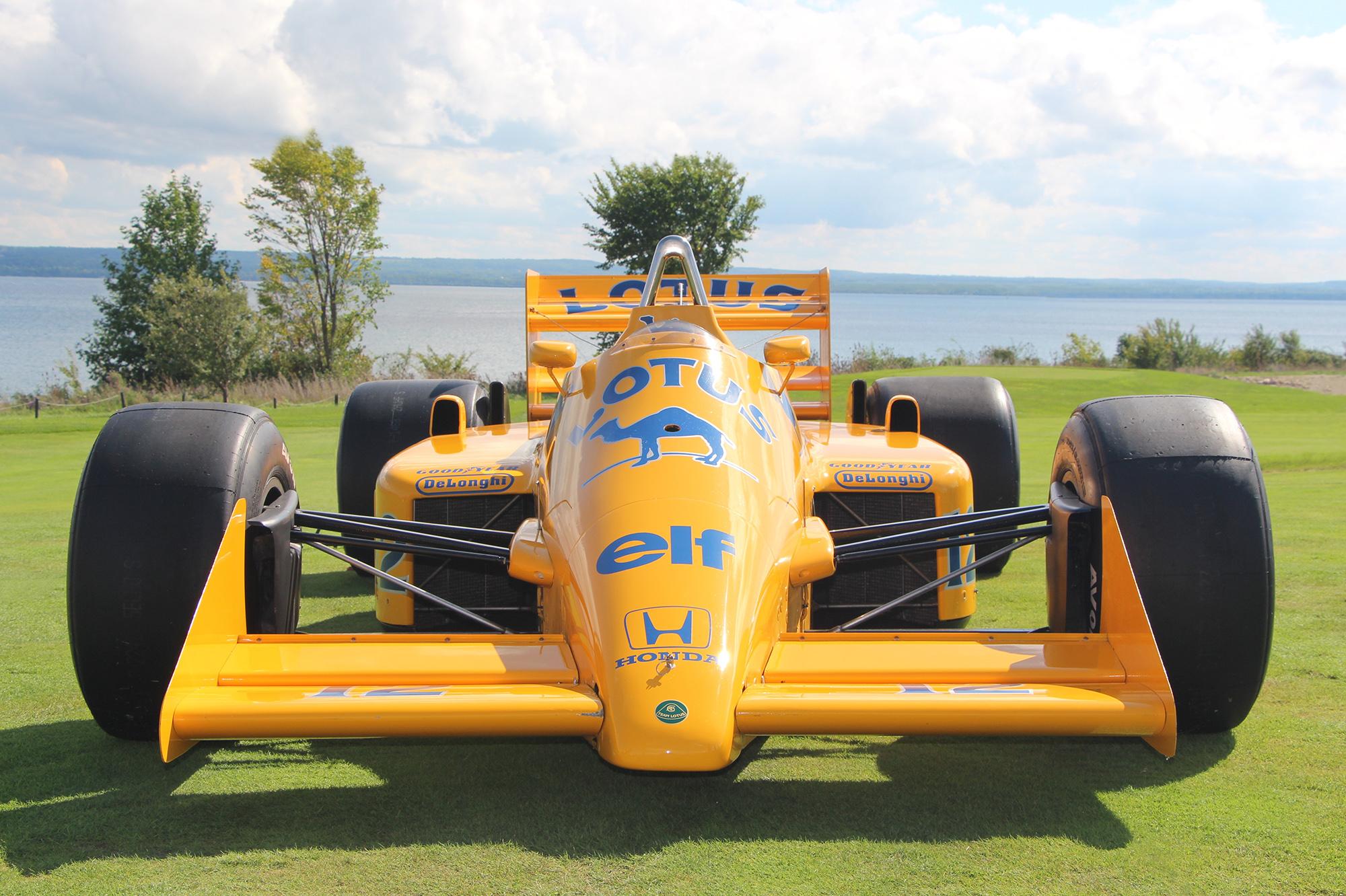 Aryton Senna's Lotus Formula 1 car.