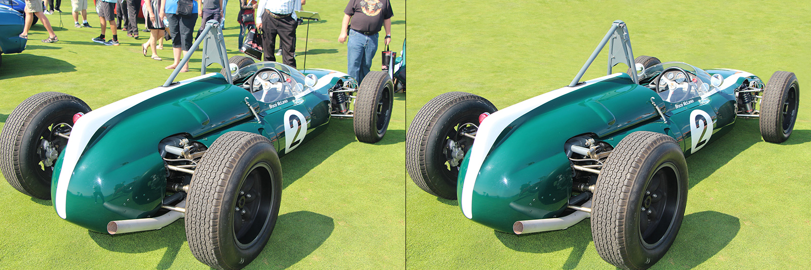 Before and after. Cooper Climax.