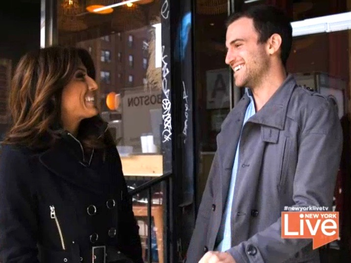 Brandon takes New York Live's Lauren Scala on a tour of the world without leaving New York City