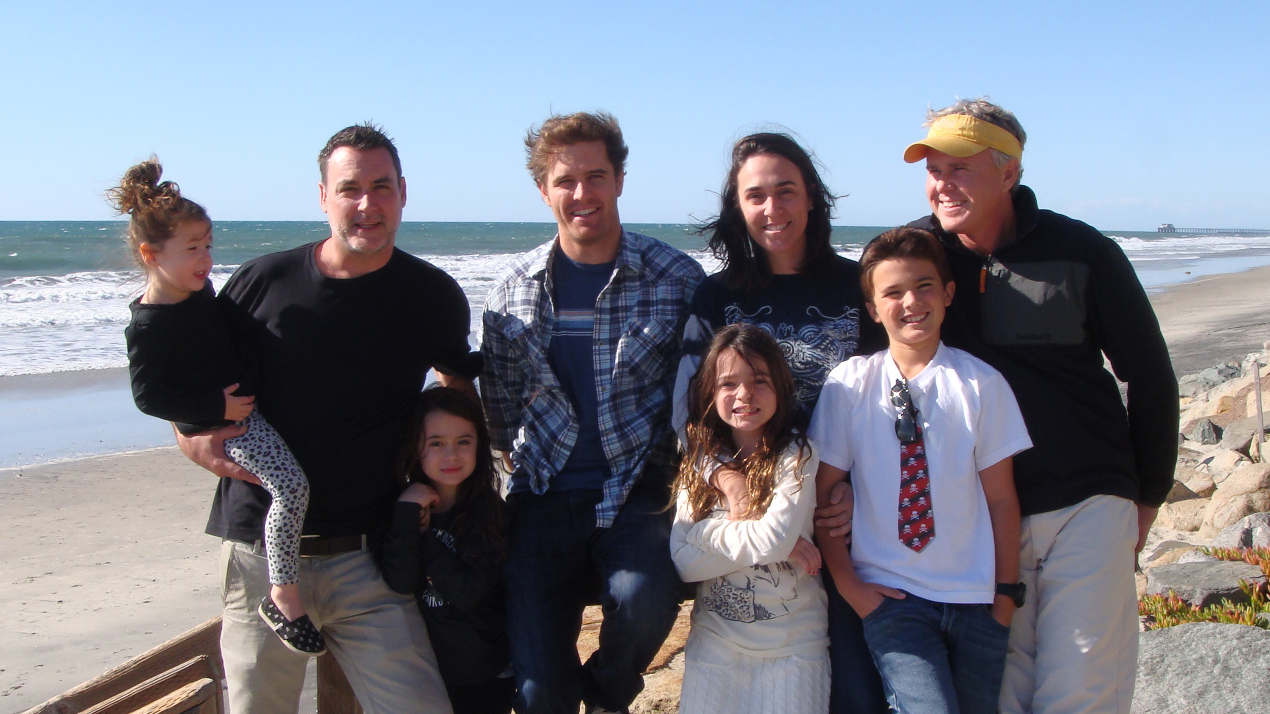 The OH YES! Family - Founders Dr. Emily Sikking and Dr. Chip Milam at right with their two children.