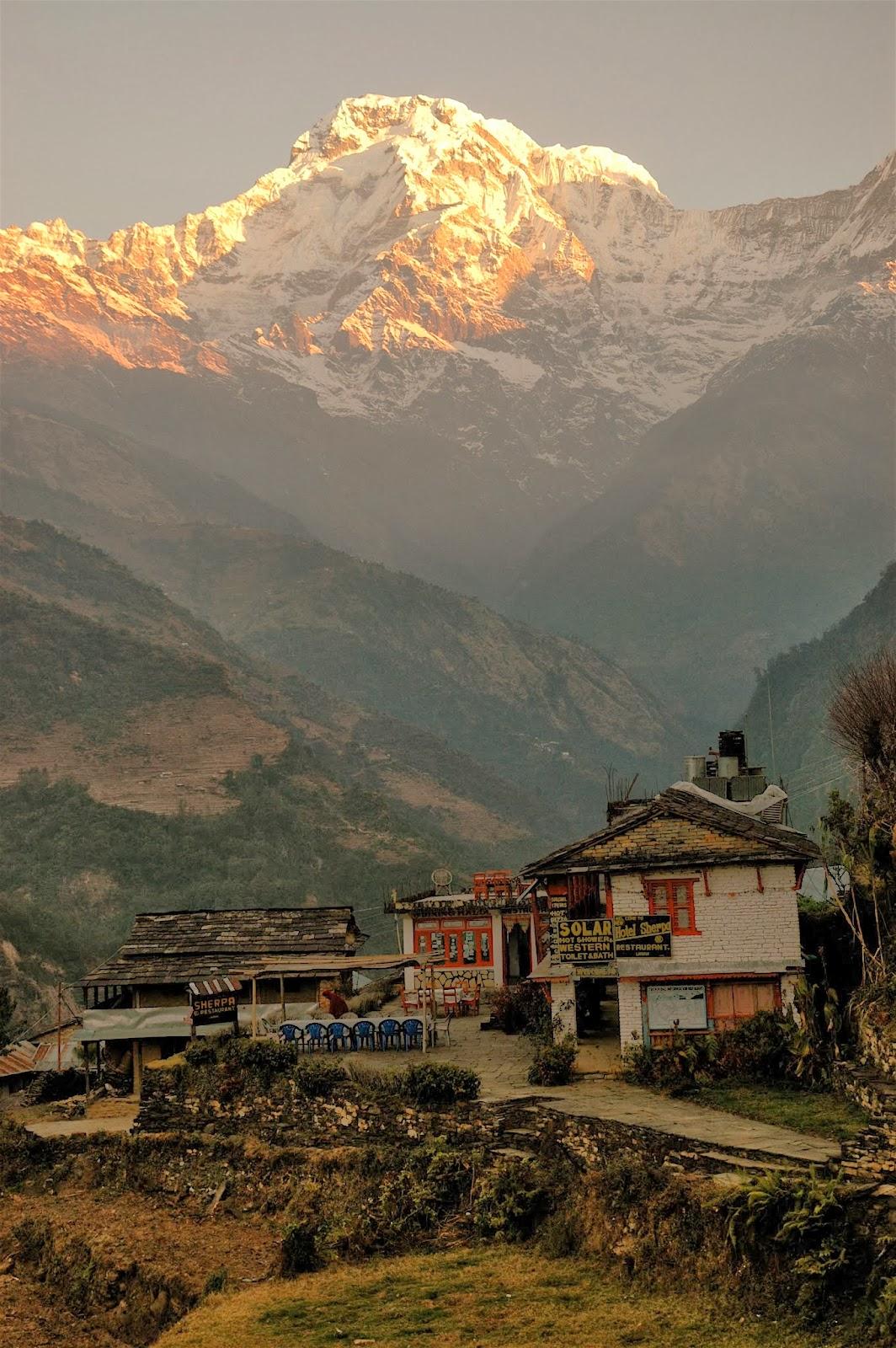 Landruk, Nepal 2008
