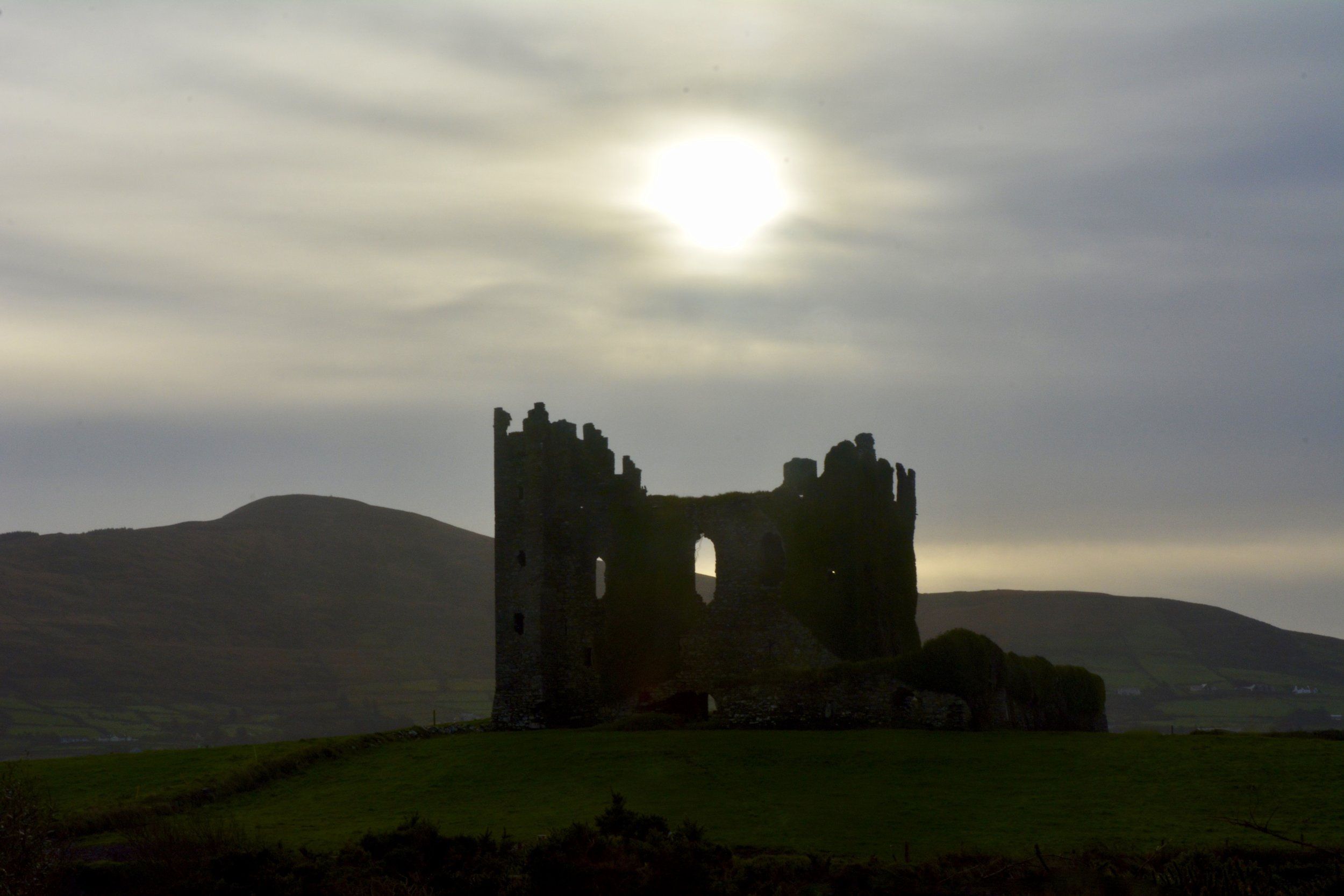 Ballycarbery Castle, Ireland 2017