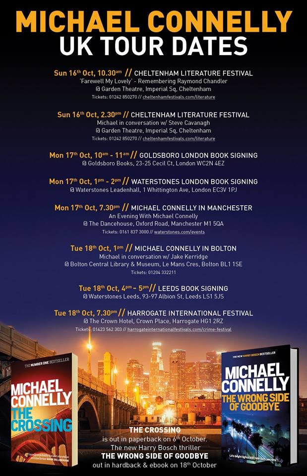 Join the fans of Mickey Haller and Harry Bosch and meet Michael!