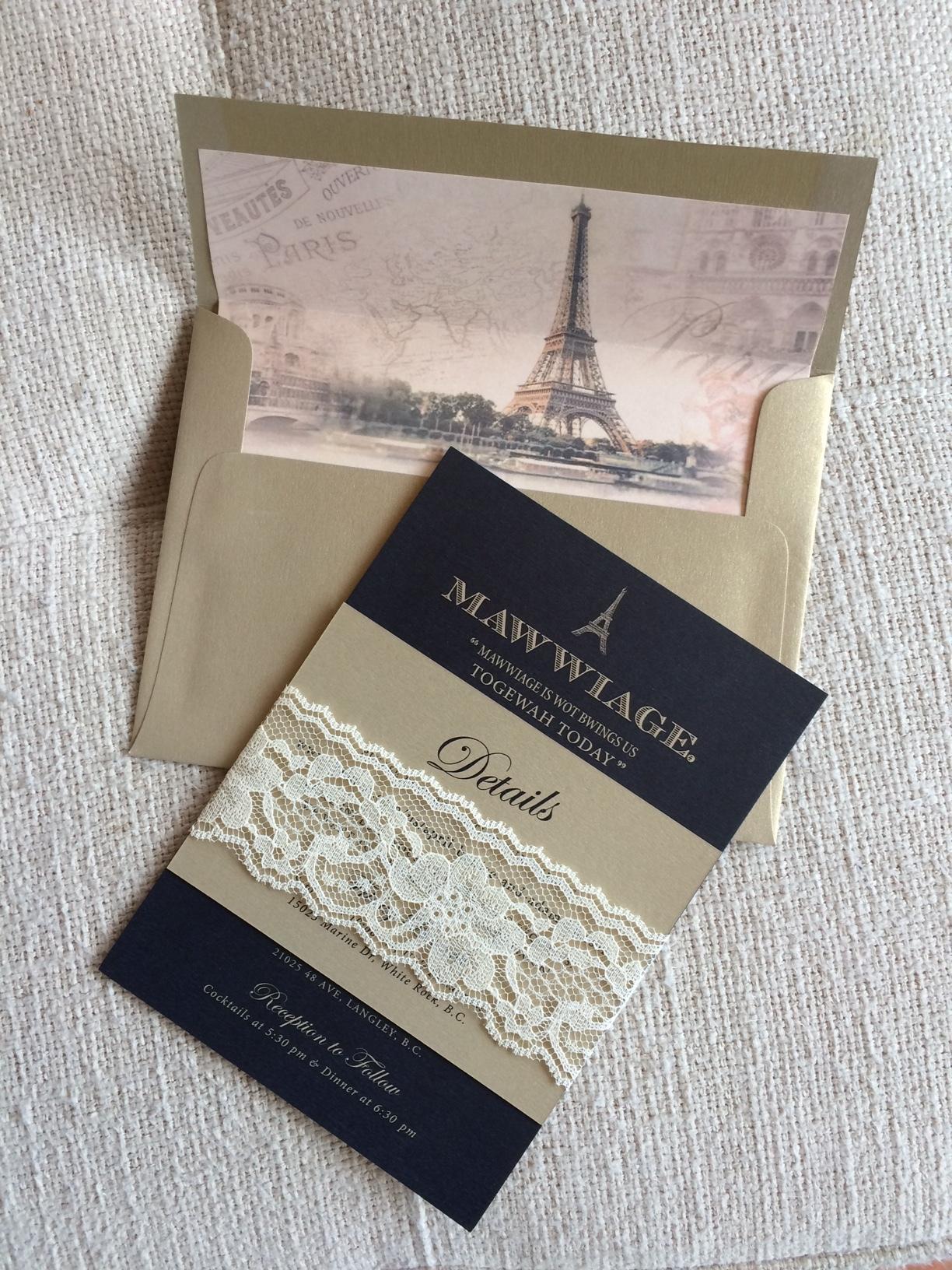 Envelope Liner + Lace Wrap