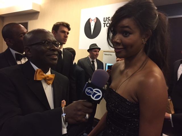 Williams interview Gabrielle Union, an American actress. (Courtesy: Armstrong Williams)