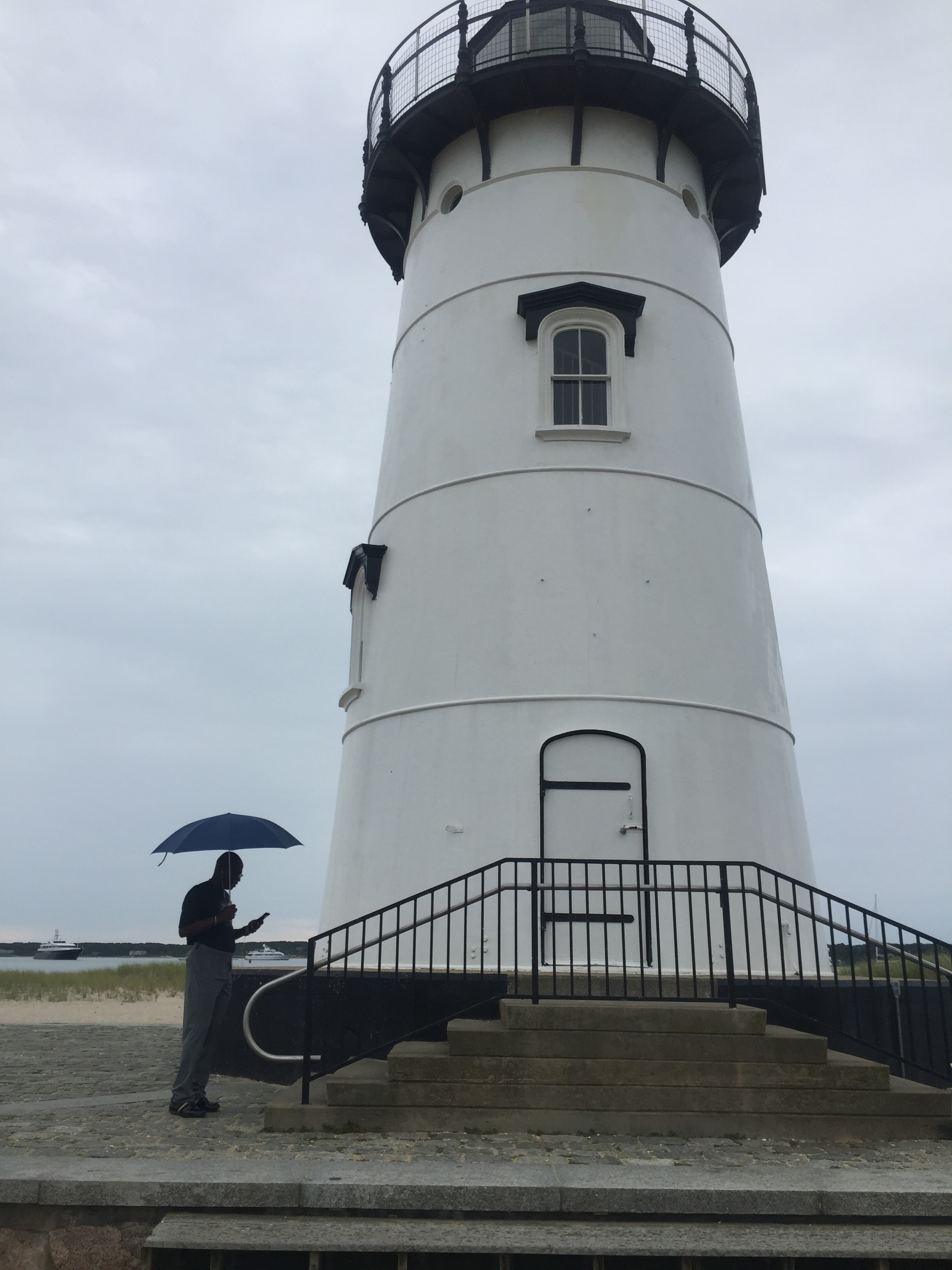 Lighthouse on the harbor