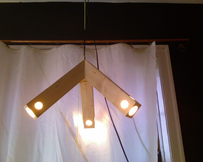 2x4 lamp, 2010