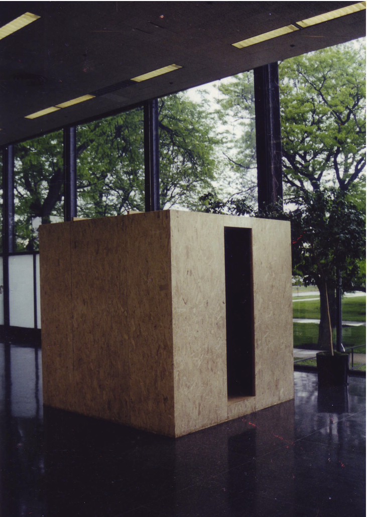 Room Instrument, installation in Crown Hall, Chicago 2001
