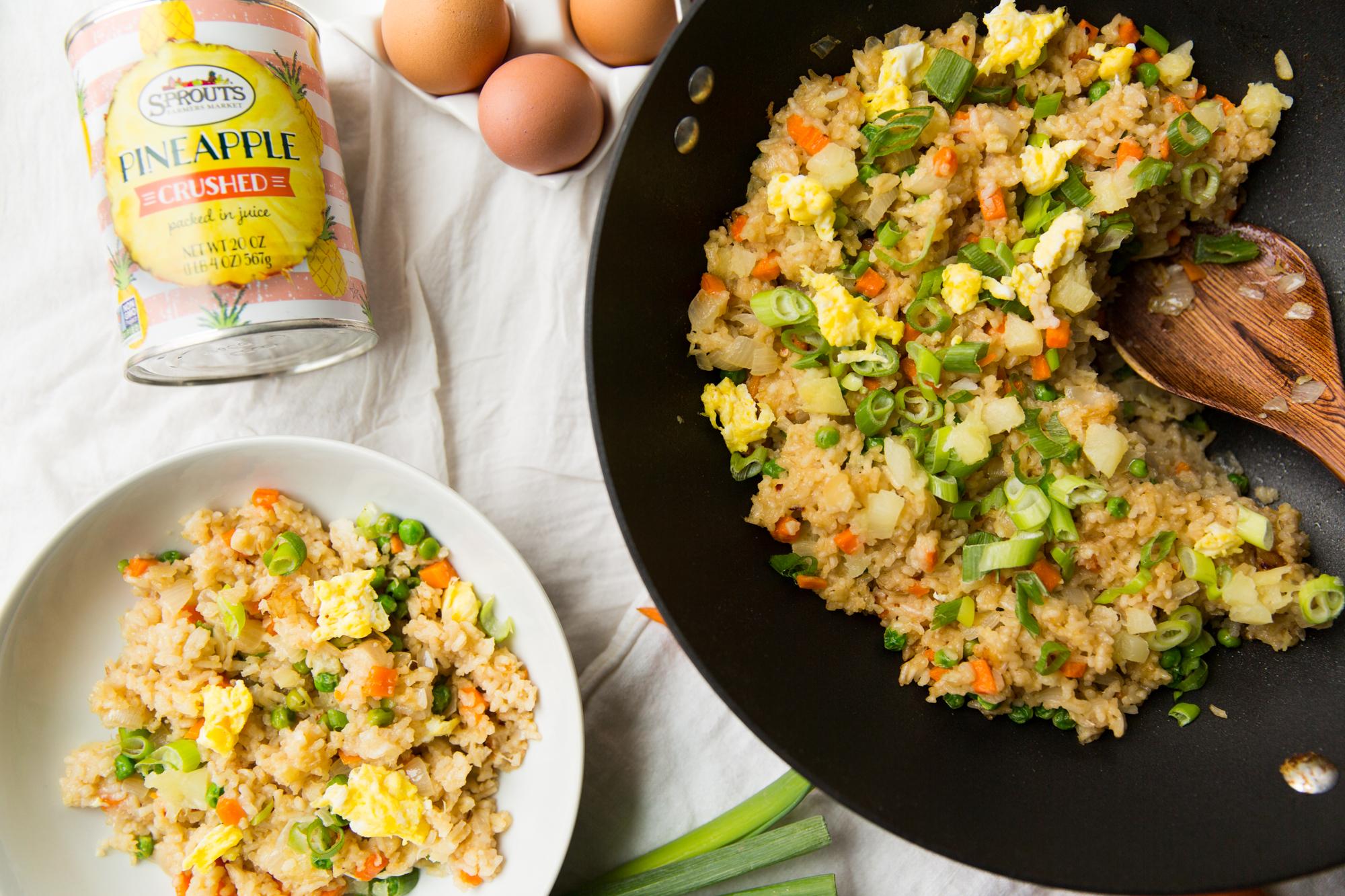Easy Vegetarian Fried Rice