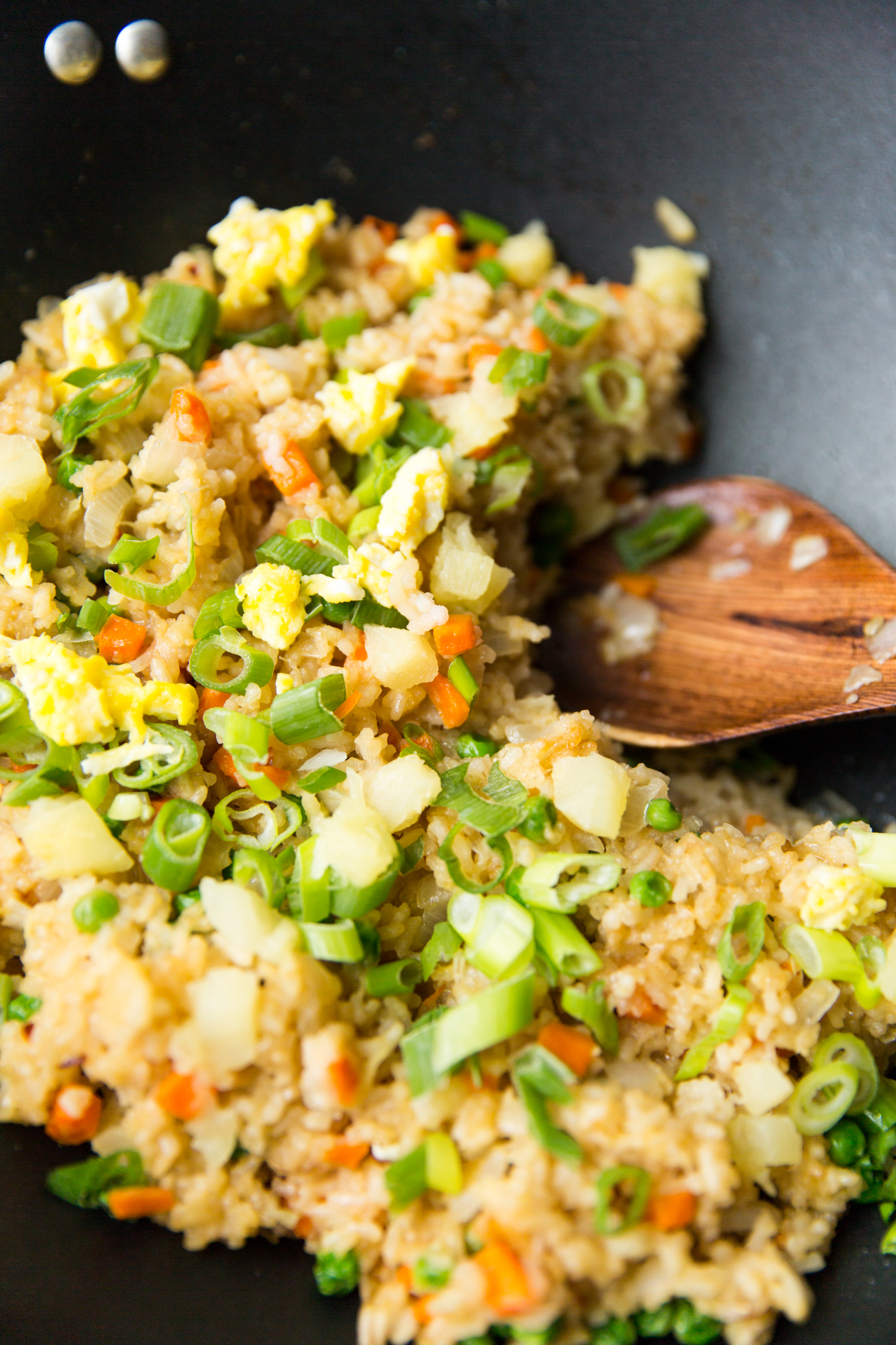 Fried Rice With Pineapple