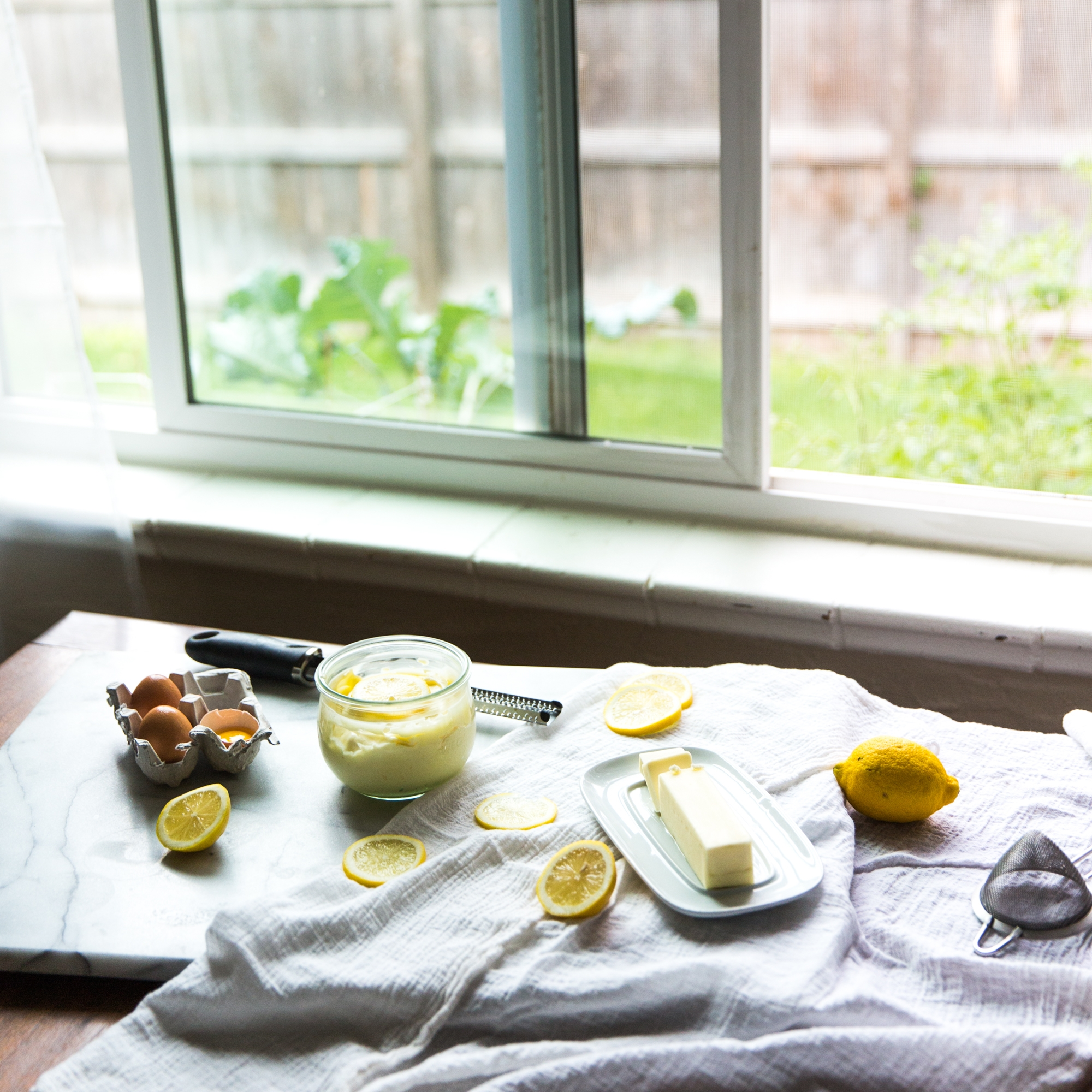 Setting Up Natural Light Food Photography