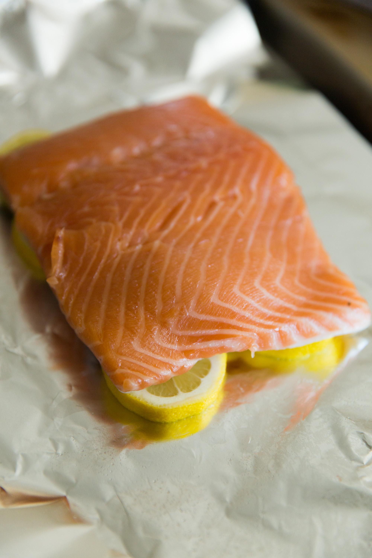 Preparing Salmon For Baking