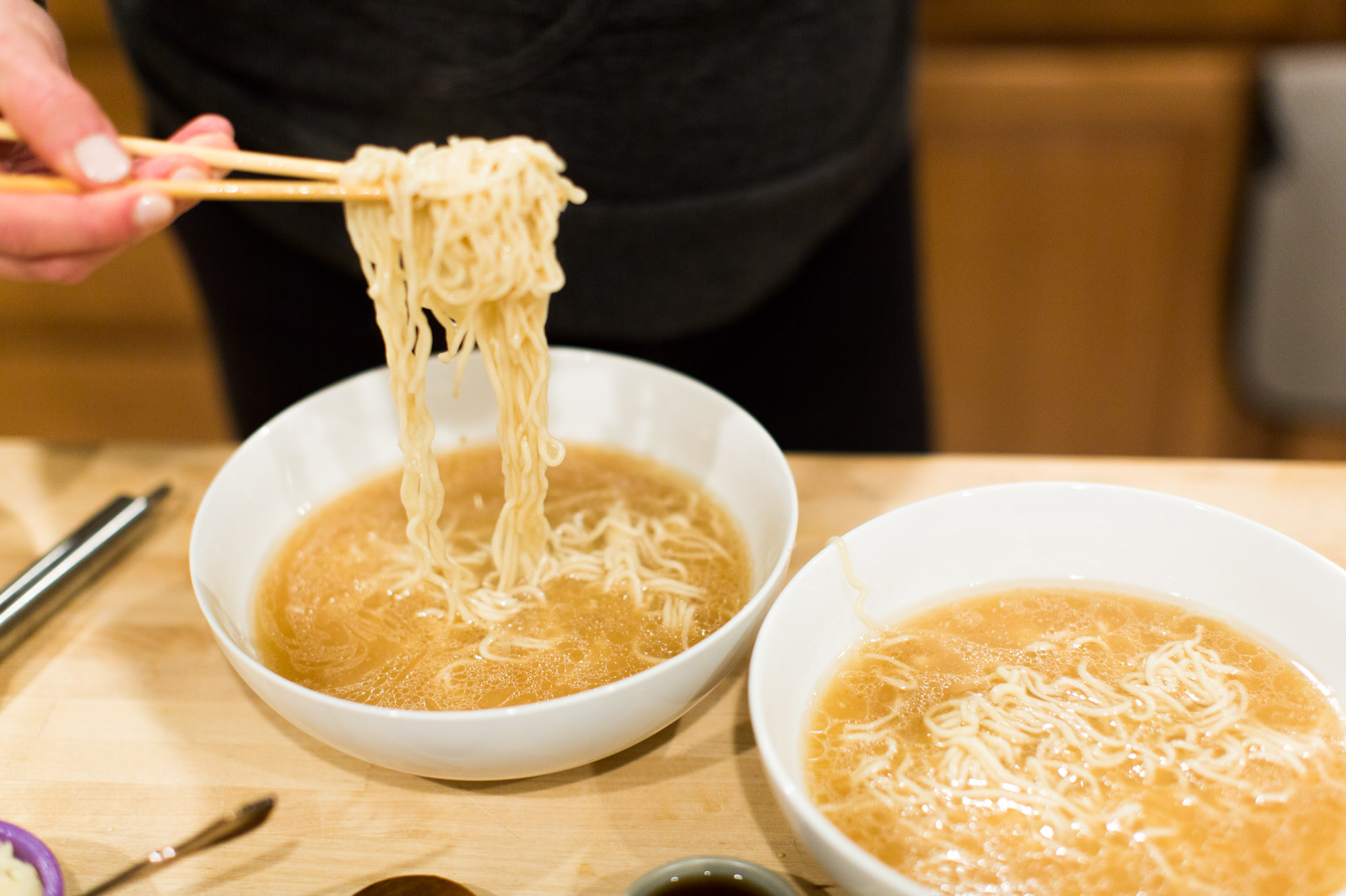 tonkotsu with fresh noodles