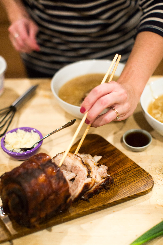 ramen with chasu pork