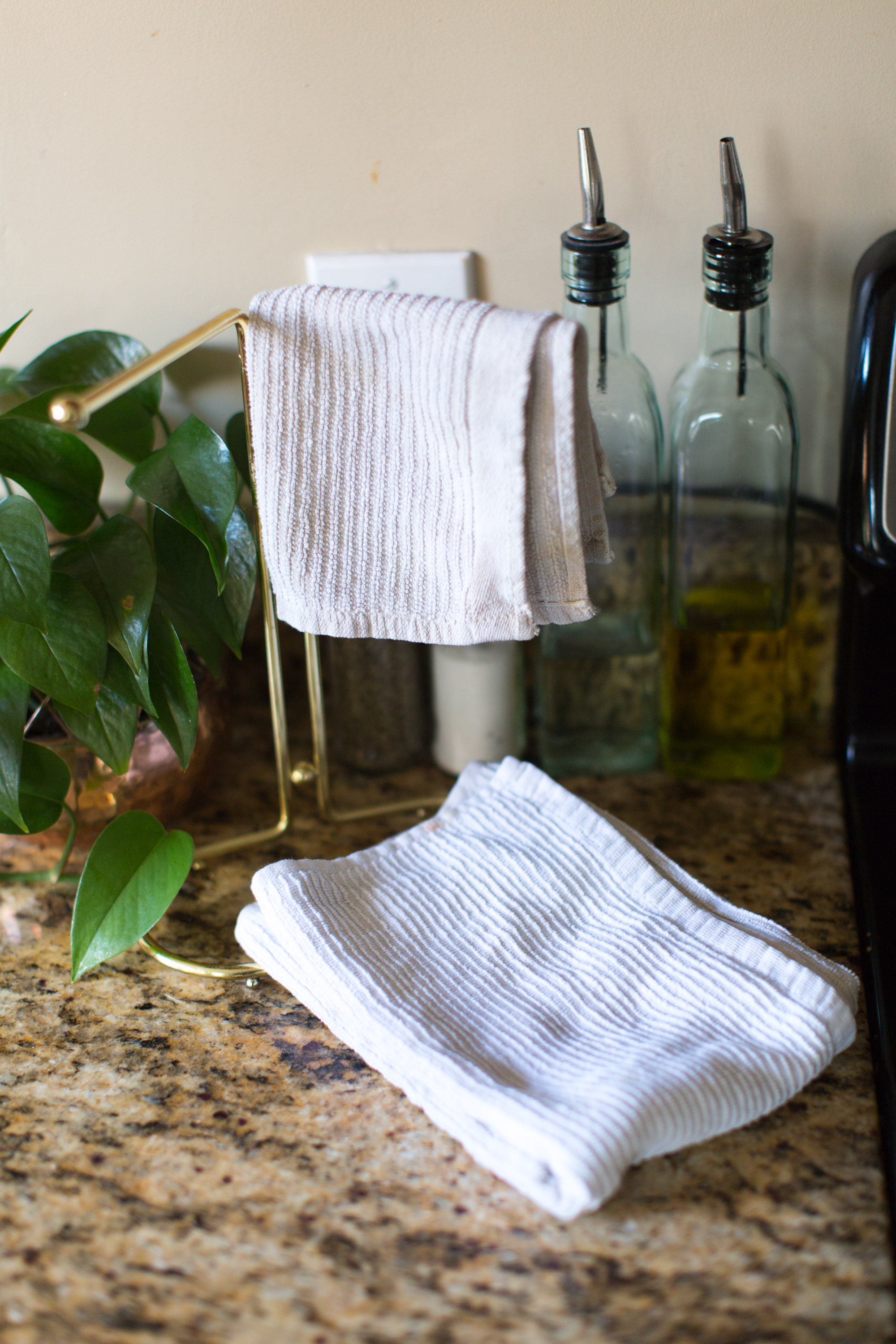 Drying reusable towels