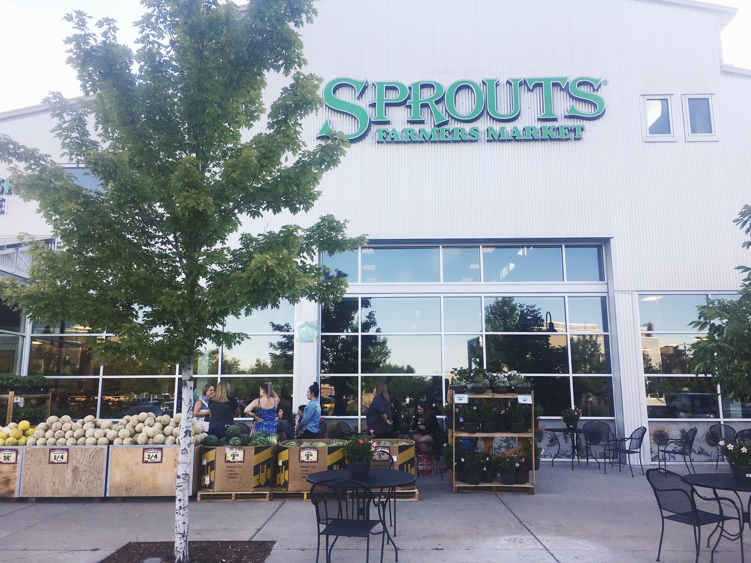 Sprouts Blogger Event
