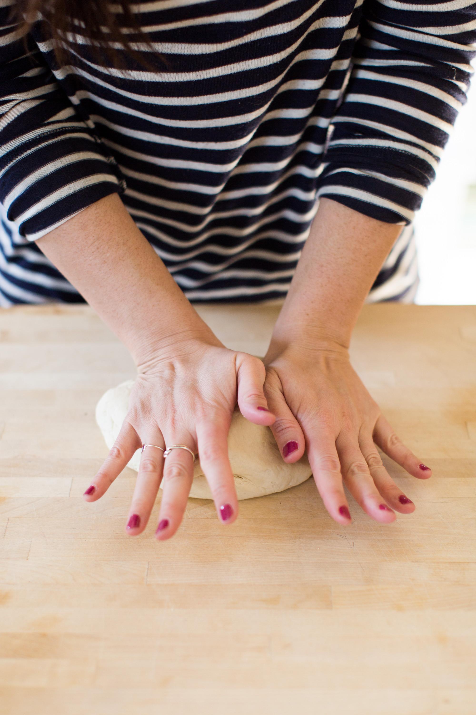 Kneading Ramen Dough By Hand