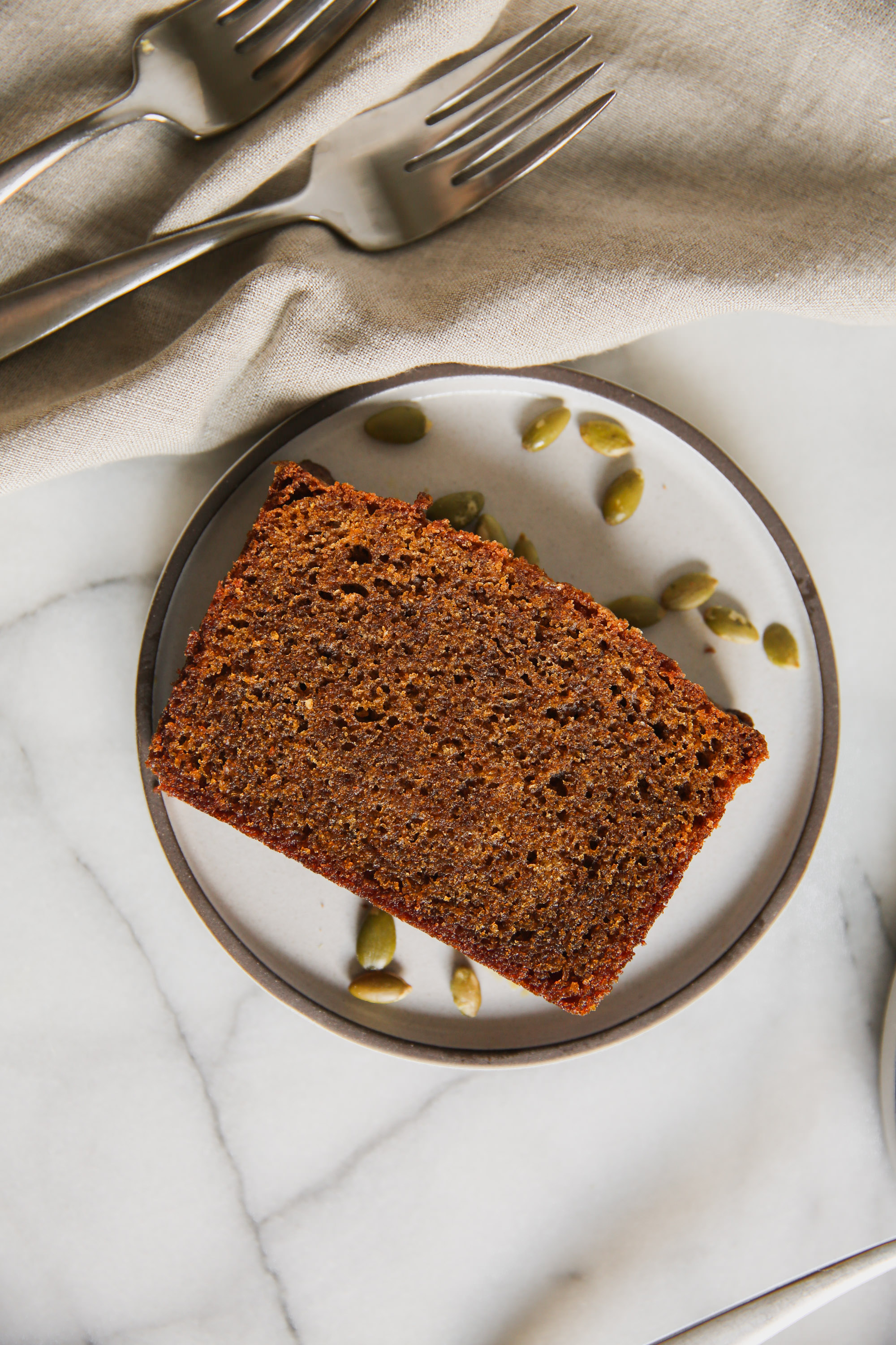 A Slice of Tartine Pumpkin Tea Cake