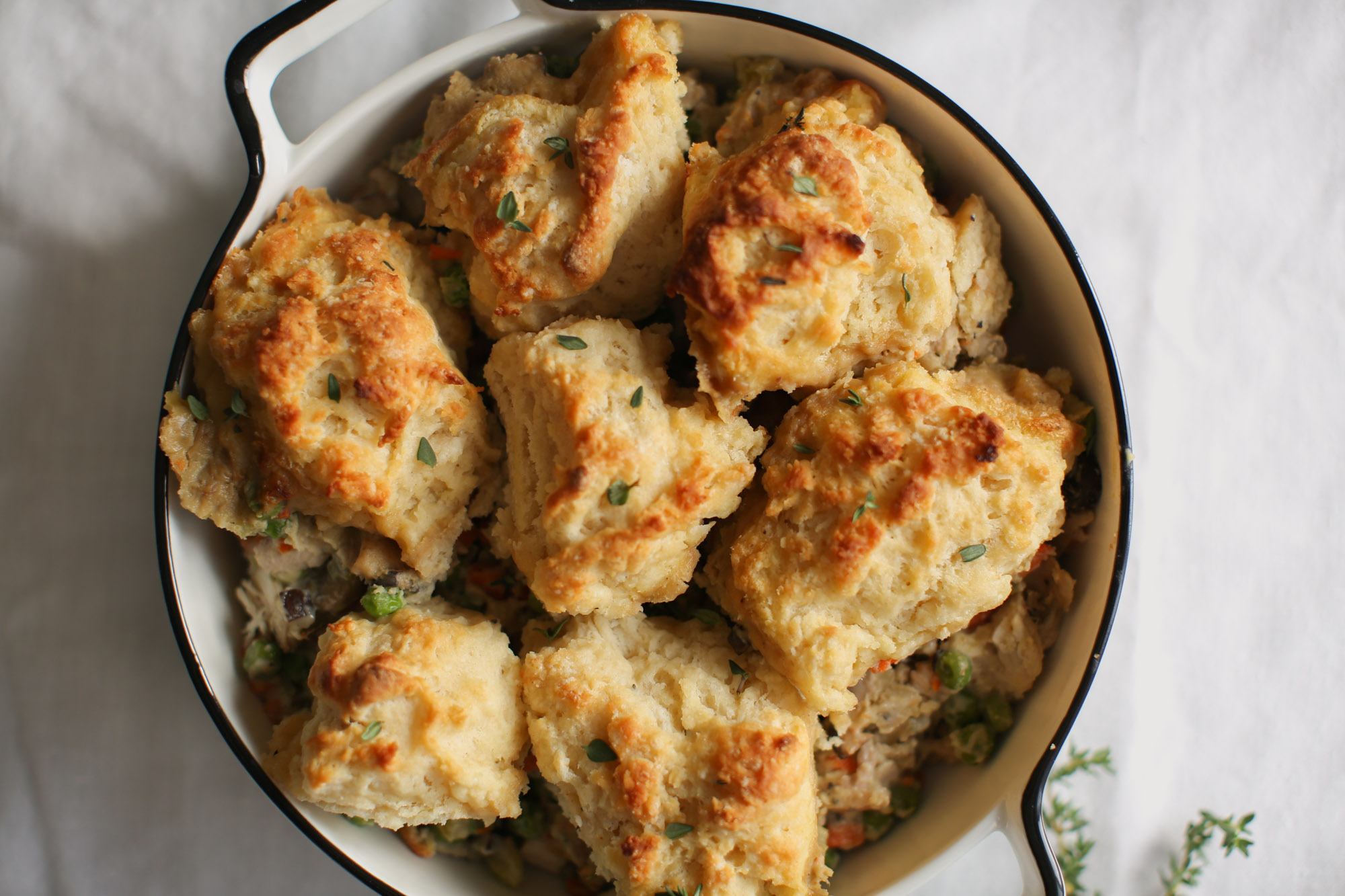 Easy Drop Biscuit Recipe for Pot Pie