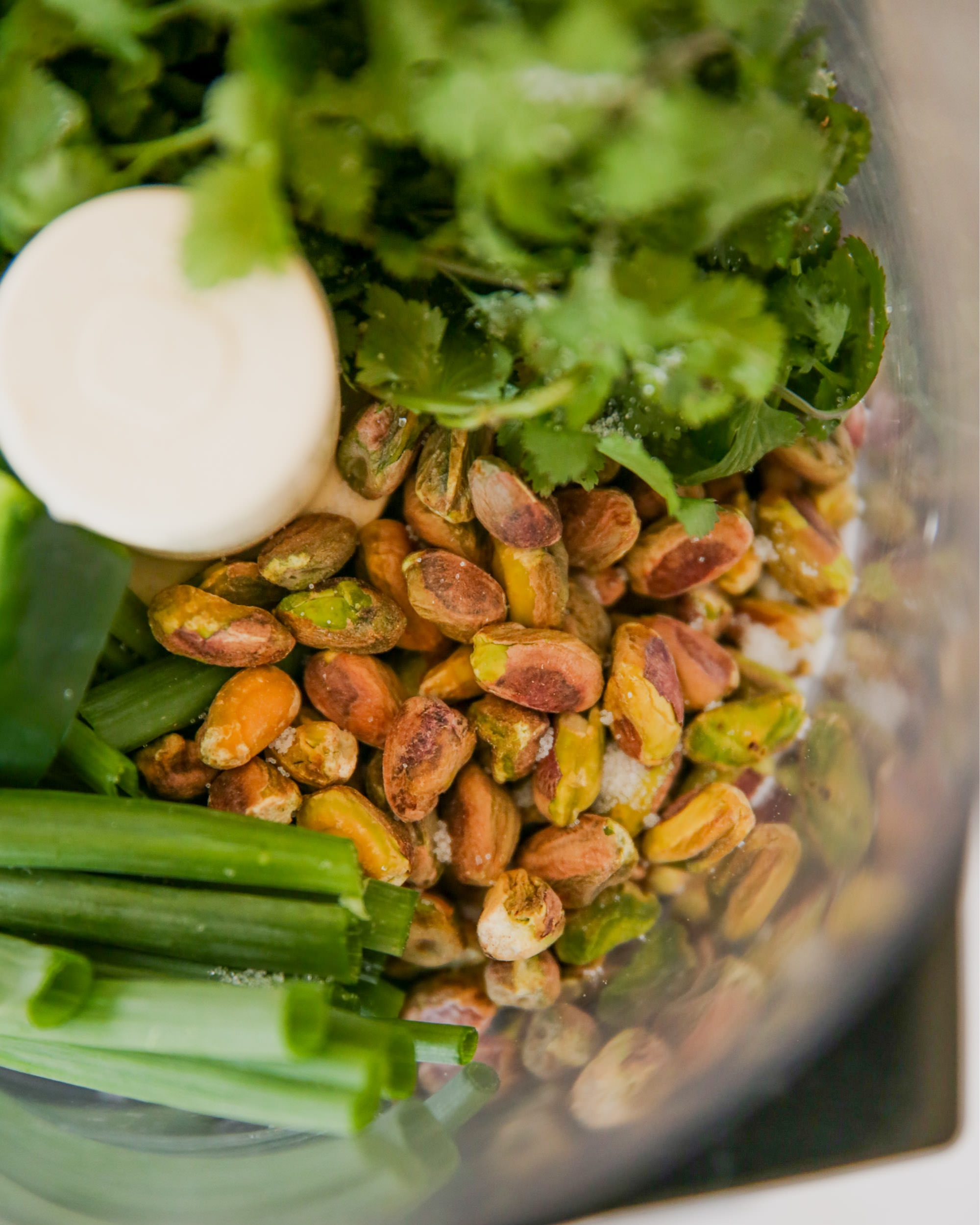 Pistachios+and+Cilantro+for+Green+Goddess+Dressing