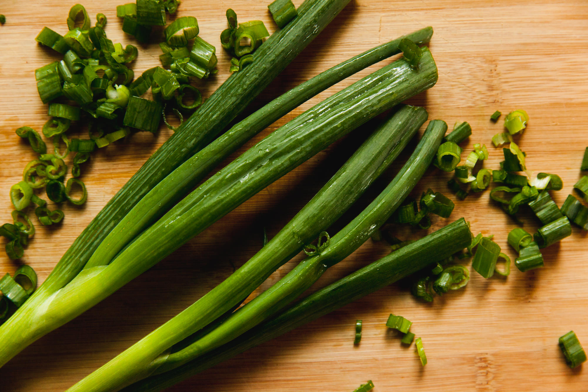 Green onions for Chicken Salad
