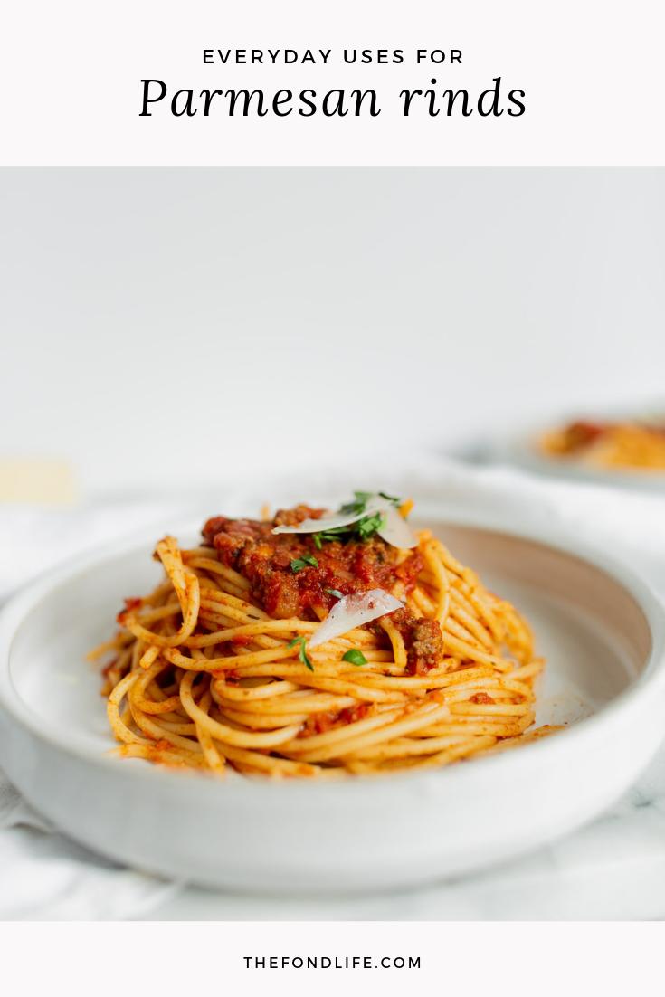 Easy Uses For Parmesan Rinds #zerowaste #wastefreerecipe #cookinghack