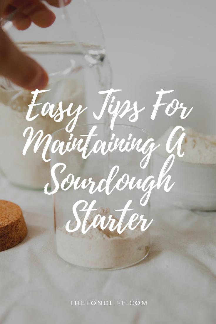 How To care For A sourdough Starter #sourdoughbread #sourdoughstarter #breadbaking.png