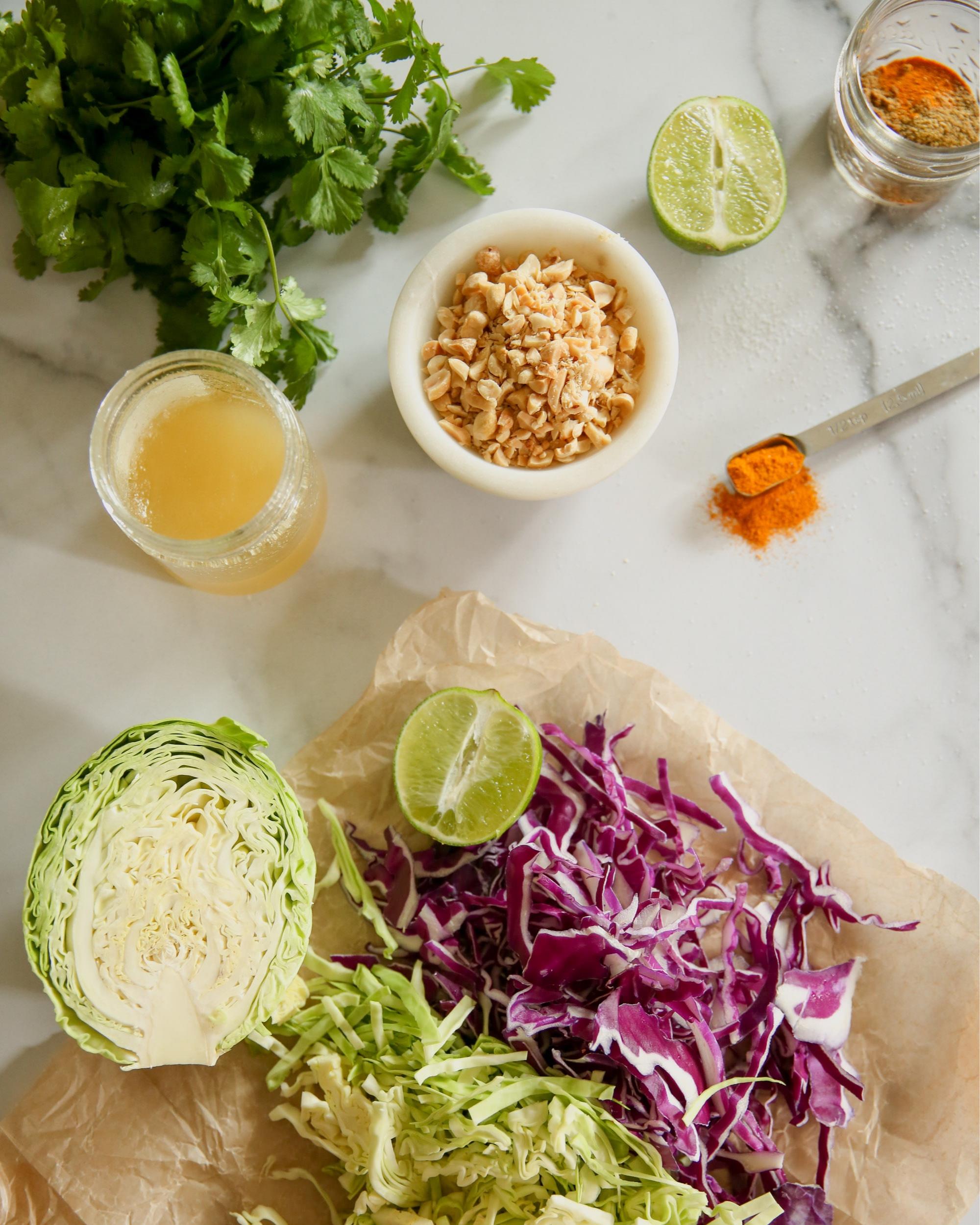 Mayo+Free+Coleslaw+Ingredients