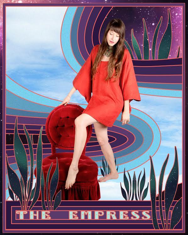 The Empress |  Community, abundance, luxury, beauty, nuturing, fertile, creative, resourceful.