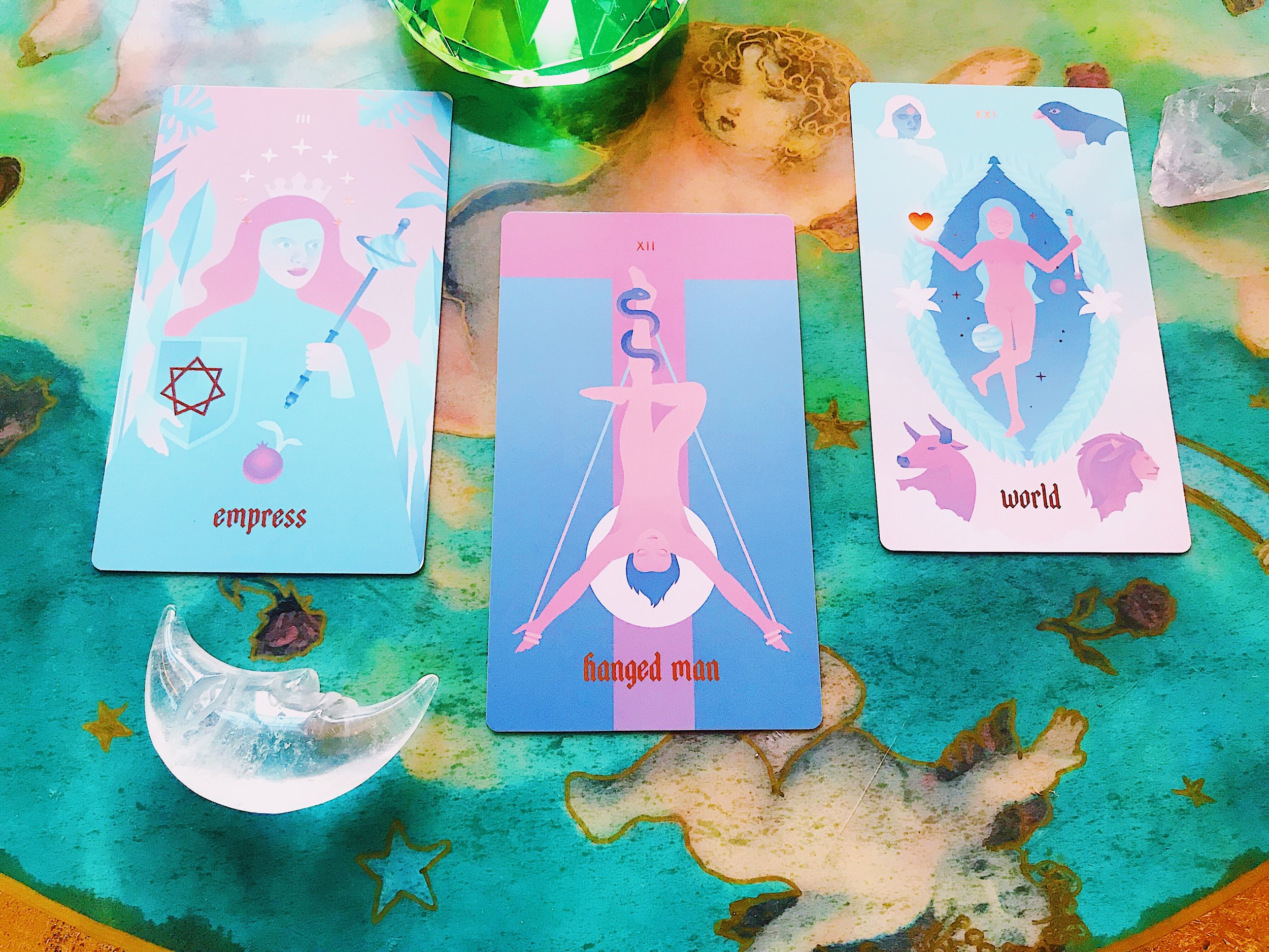 Seventh Sphere Tarot de Marseille deck