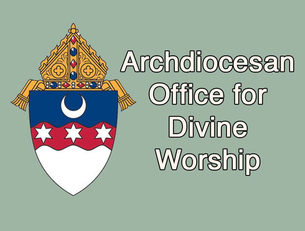 Office of Divine Worship Webpage